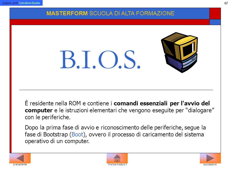 B.I.O.S. MASTERFORM SCUOLA DI ALTA FORMAZIONE