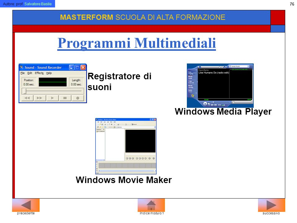 Programmi Multimediali