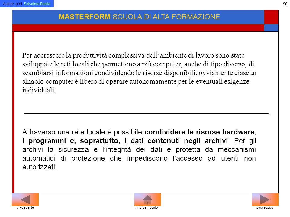 MASTERFORM SCUOLA DI ALTA FORMAZIONE
