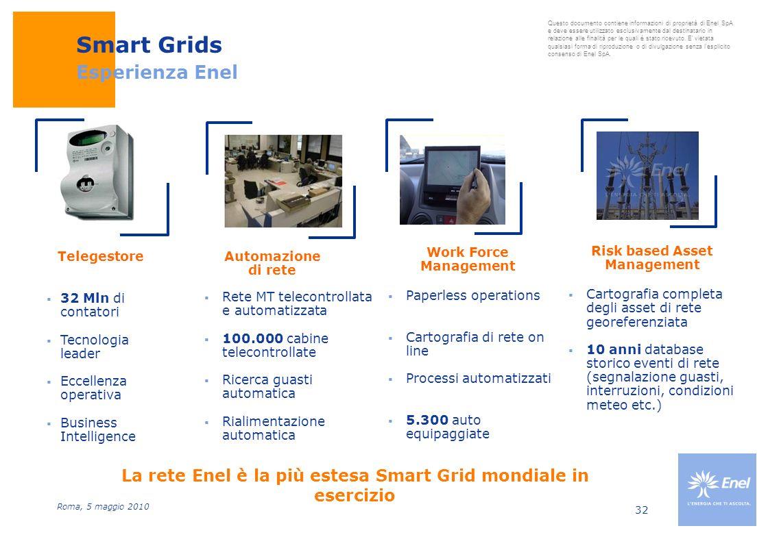 Smart Grids Esperienza Enel