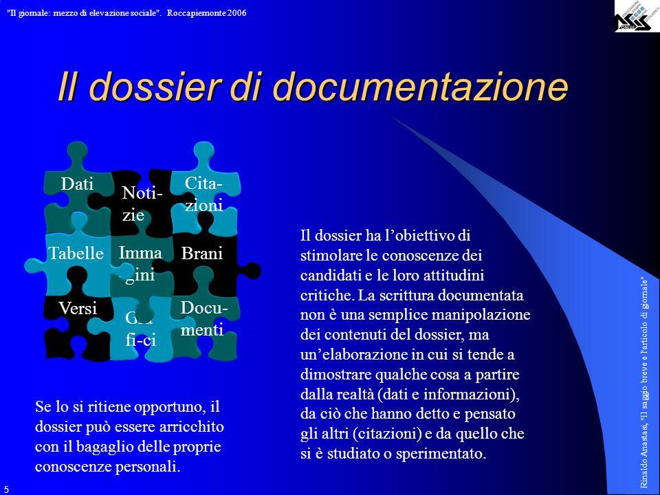 Il dossier di documentazione