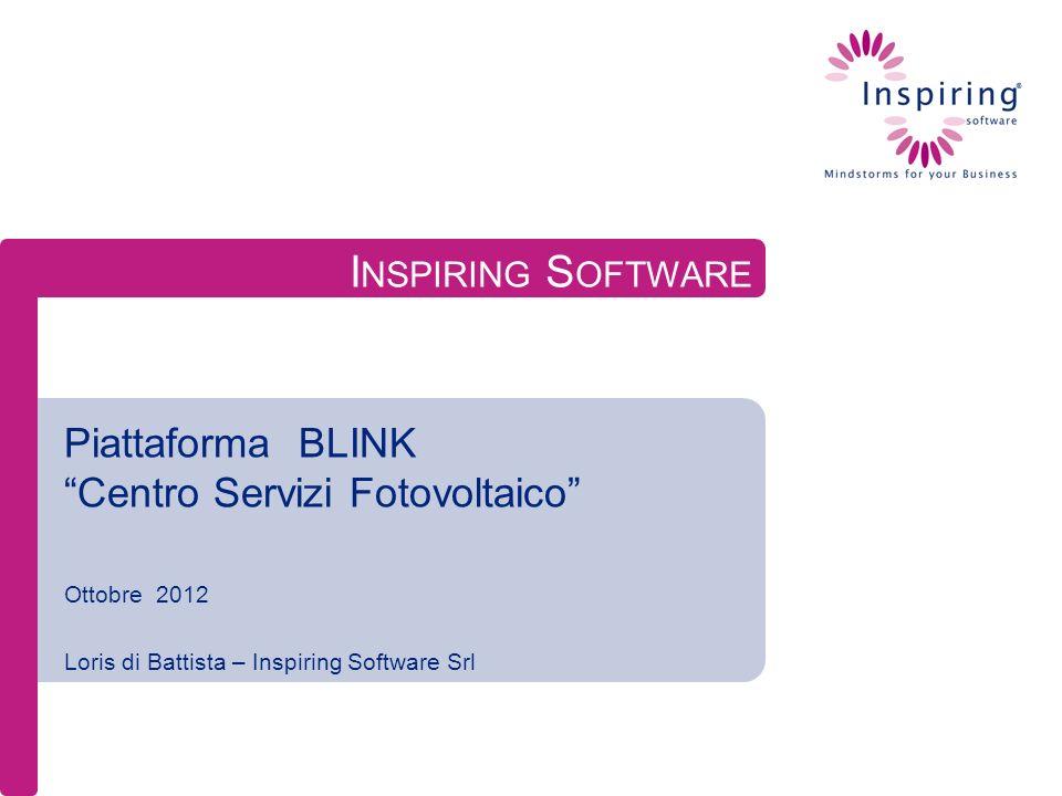 Piattaforma BLINK Centro Servizi Fotovoltaico