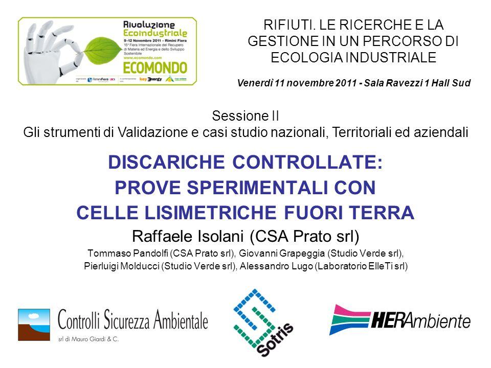 Venerdì 11 novembre 2011 - Sala Ravezzi 1 Hall Sud