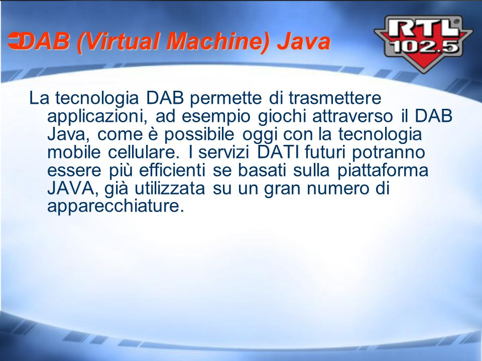 DAB (Virtual Machine) Java