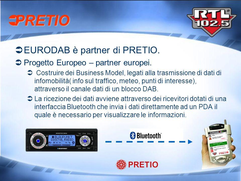 PRETIO EURODAB è partner di PRETIO.