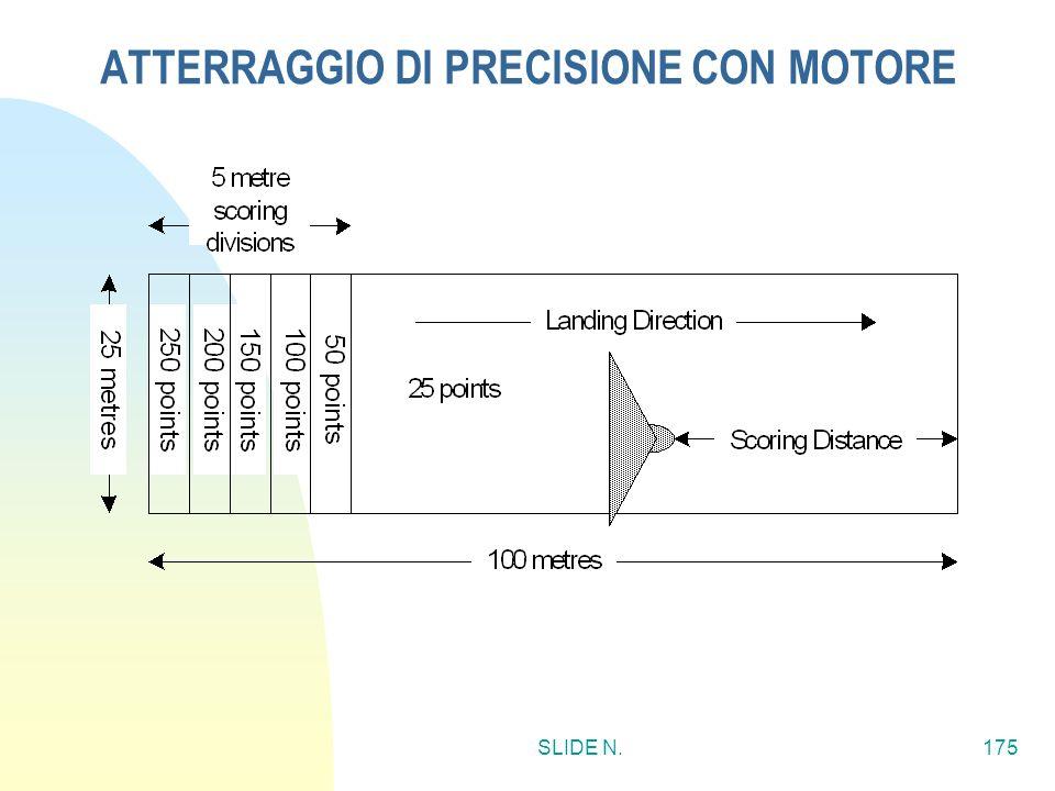 ATTERRAGGIO DI PRECISIONE CON MOTORE
