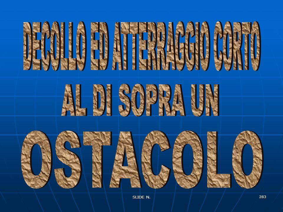 DECOLLO ED ATTERRAGGIO CORTO