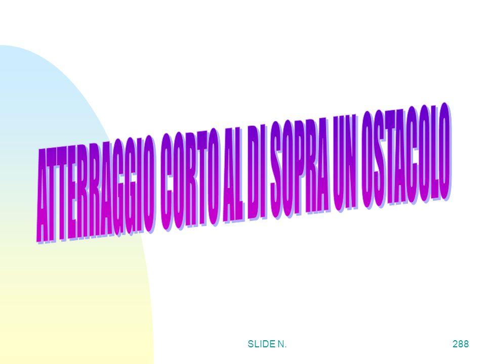 ATTERRAGGIO CORTO AL DI SOPRA UN OSTACOLO