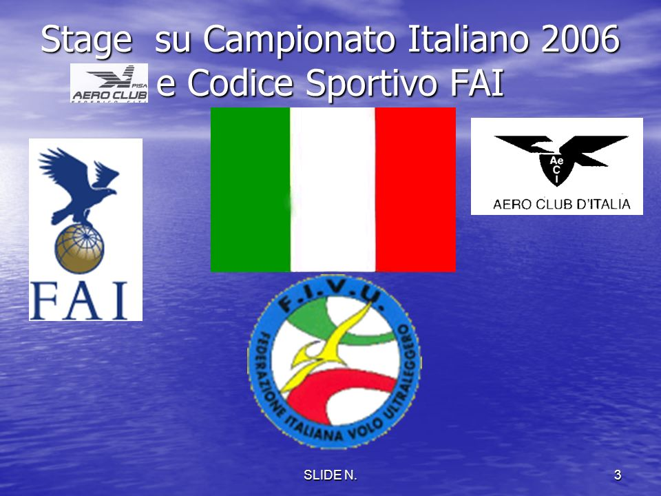 Stage su Campionato Italiano 2006 e Codice Sportivo FAI