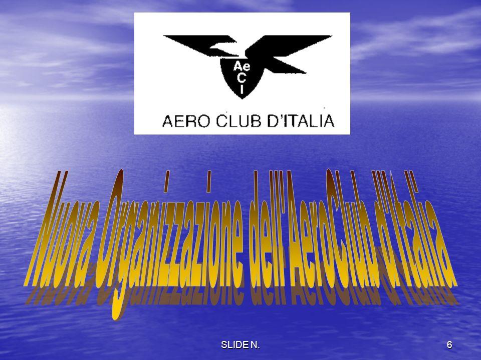 Nuova Organizzazione dell AeroClub d Italia