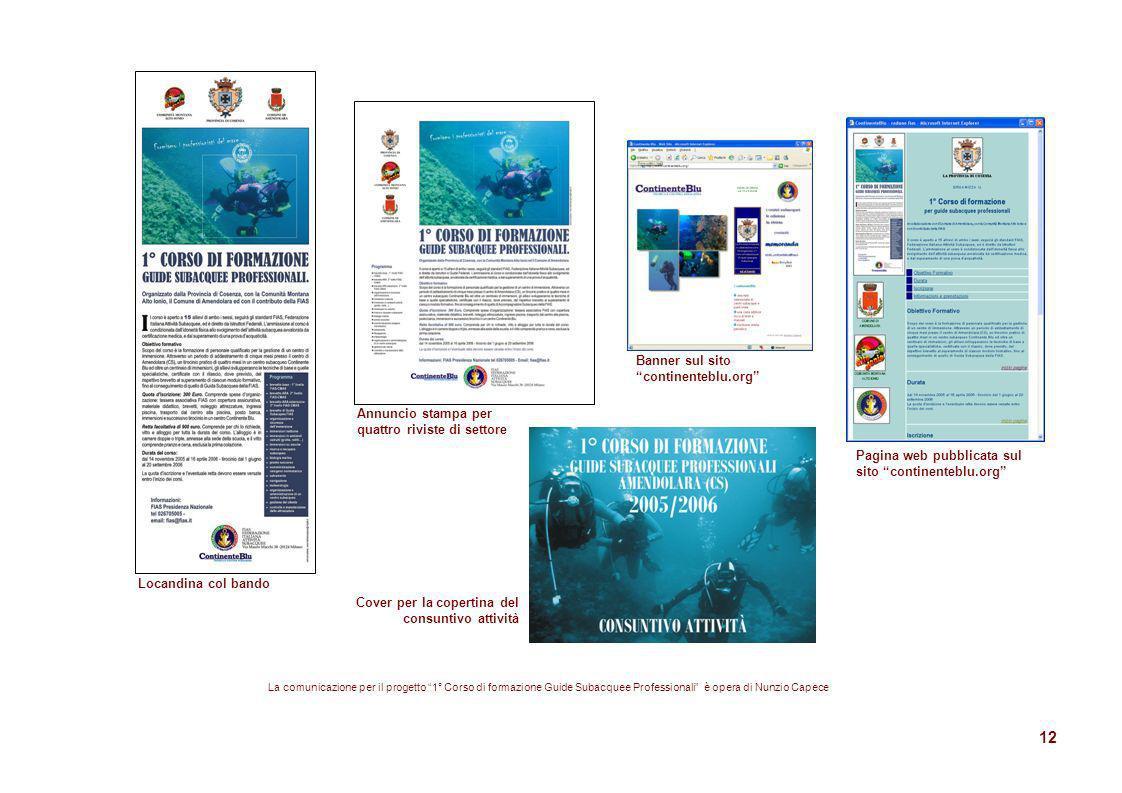 Banner sul sito continenteblu.org