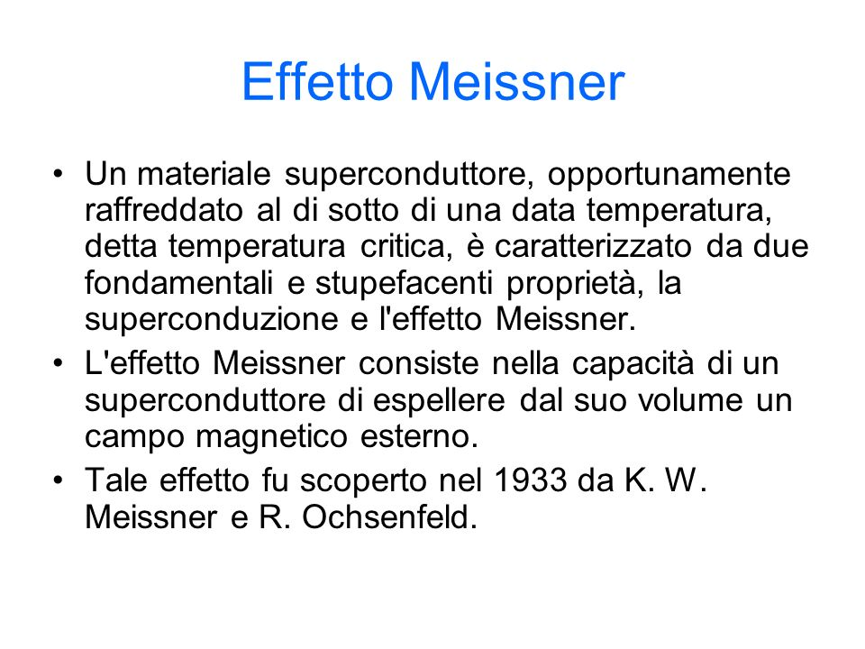 Effetto Meissner