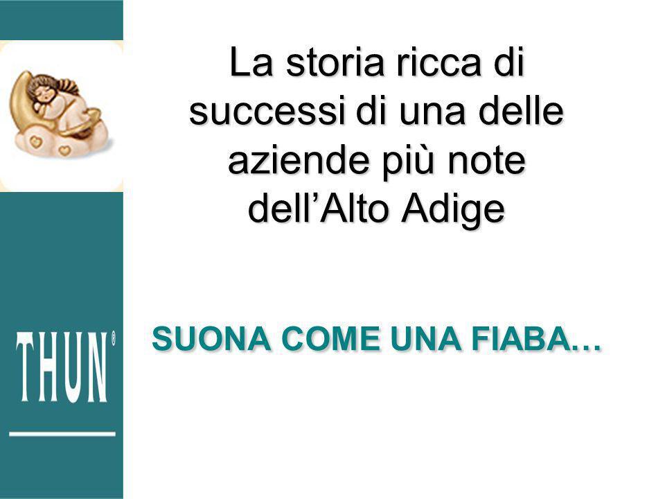 La storia ricca di successi di una delle aziende più note dell'Alto Adige SUONA COME UNA FIABA…