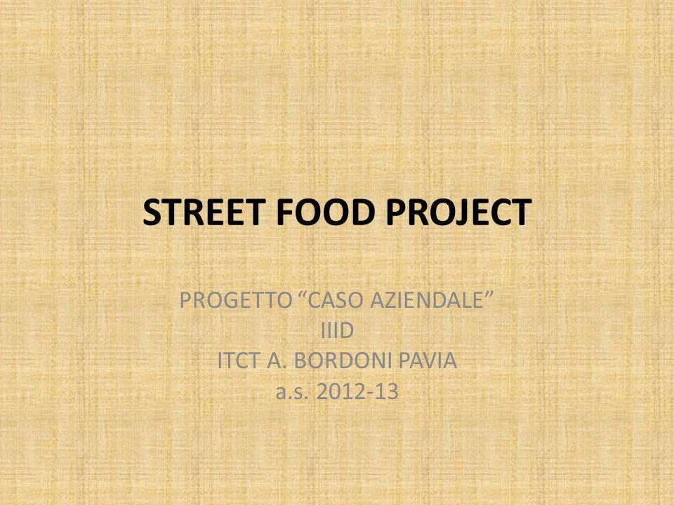 PROGETTO CASO AZIENDALE IIID ITCT A. BORDONI PAVIA a.s. 2012-13
