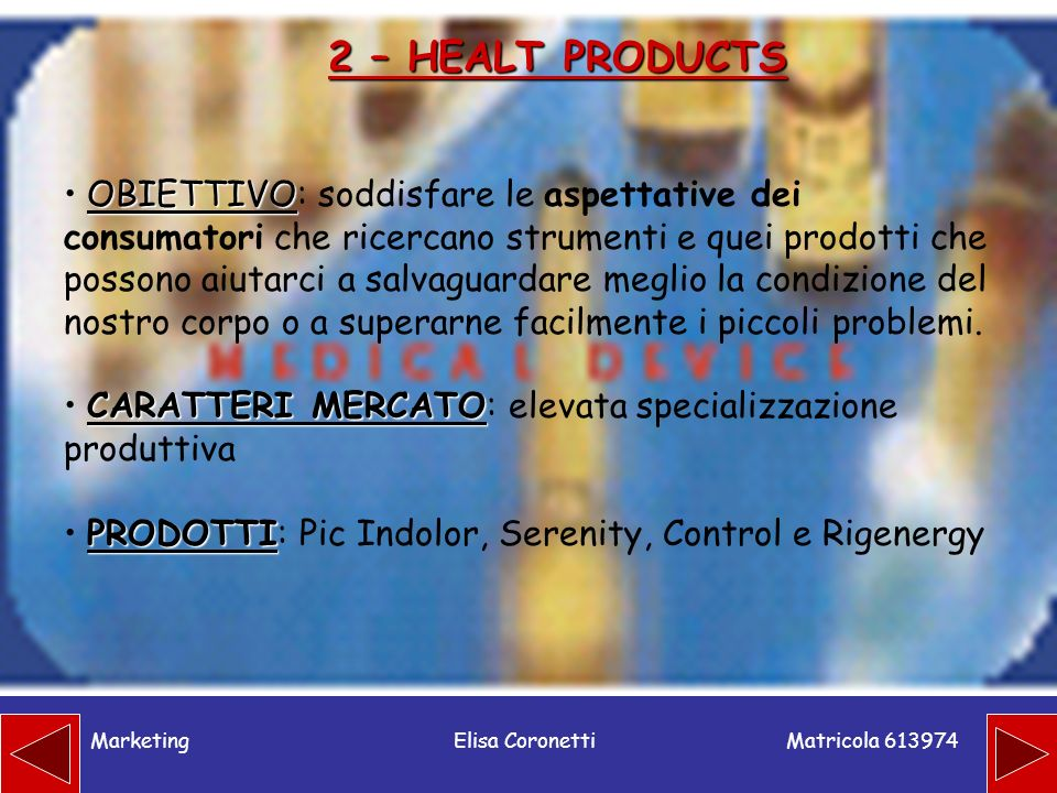 2 – HEALT PRODUCTS