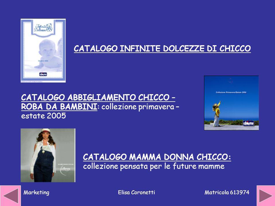 CATALOGO INFINITE DOLCEZZE DI CHICCO