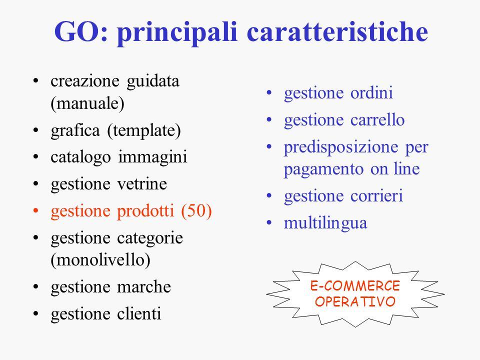 GO: principali caratteristiche