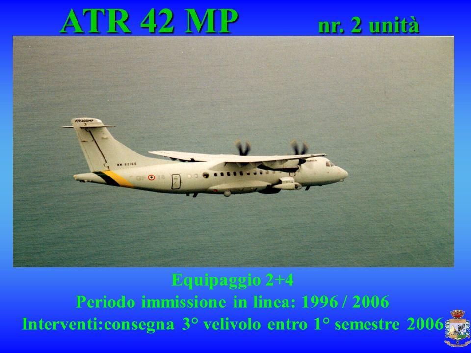 ATR 42 MP nr. 2 unità Equipaggio 2+4