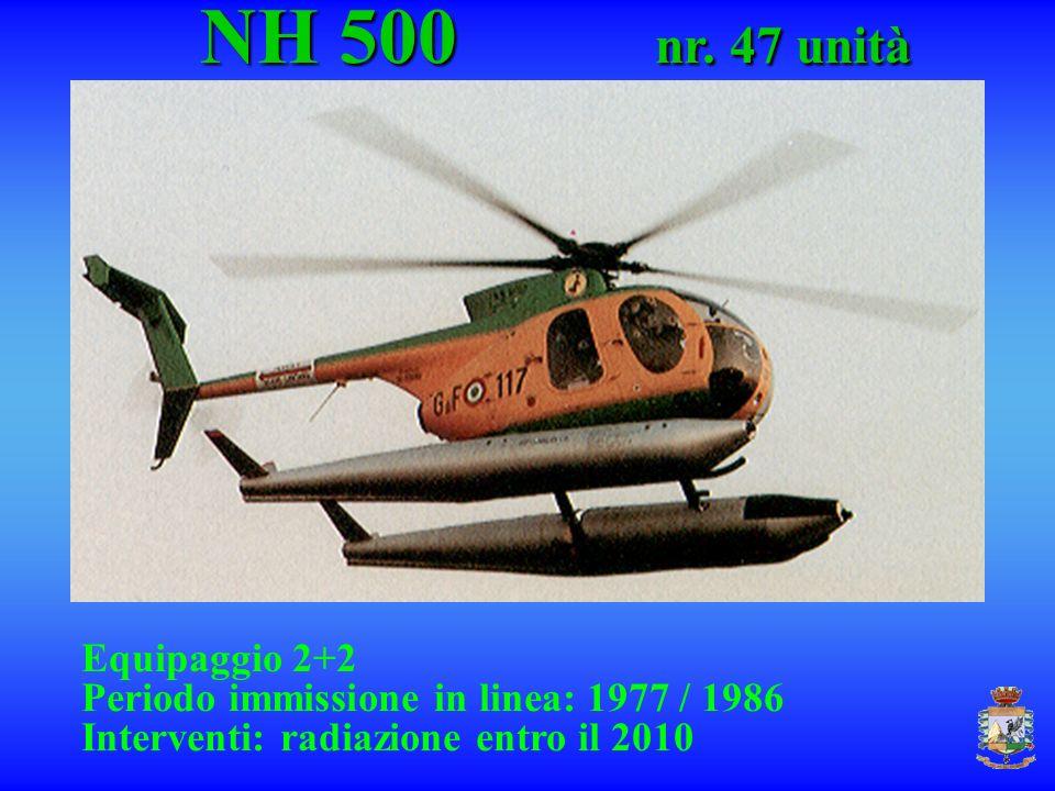 NH 500 nr. 47 unità Equipaggio 2+2