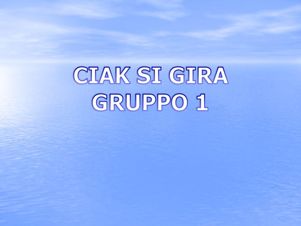 CIAK SI GIRA GRUPPO 1