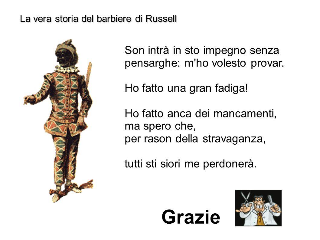 La vera storia del barbiere di Russell