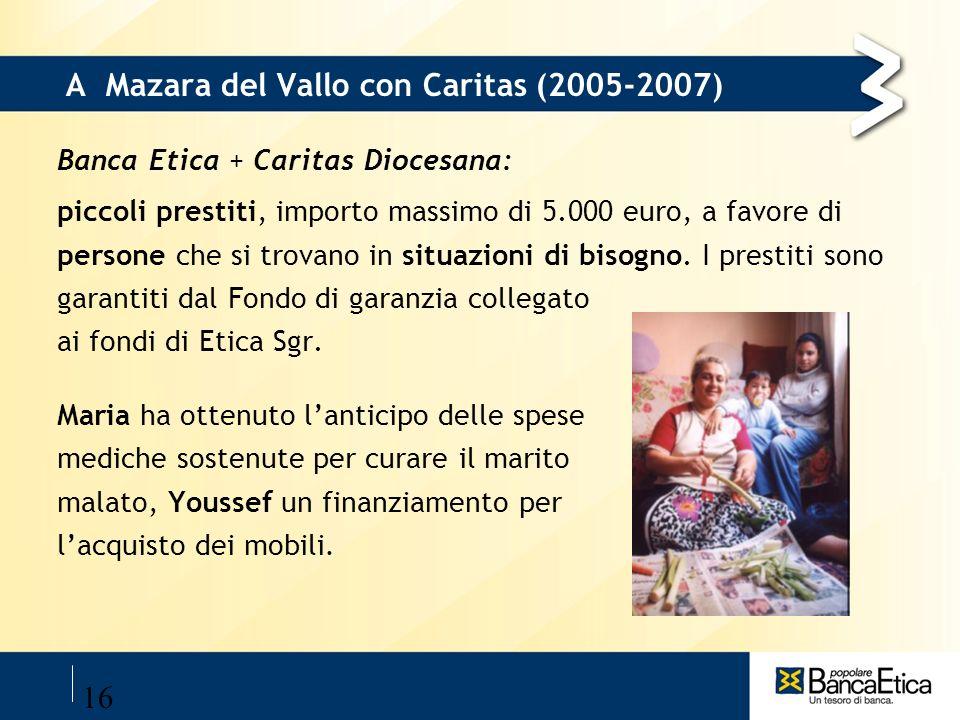 A Mazara del Vallo con Caritas (2005-2007)