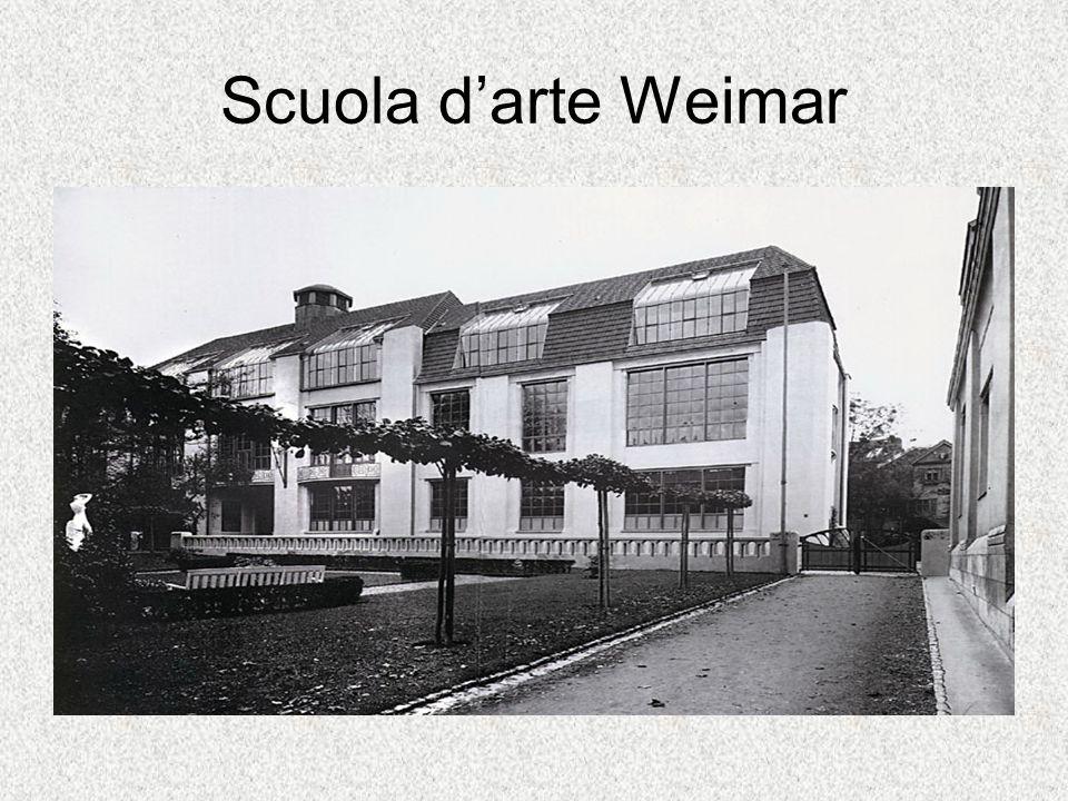 Scuola d'arte Weimar