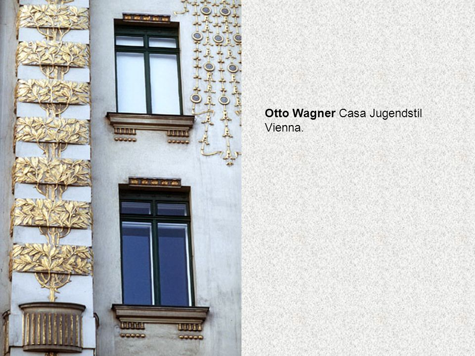 Otto Wagner Casa Jugendstil Vienna.