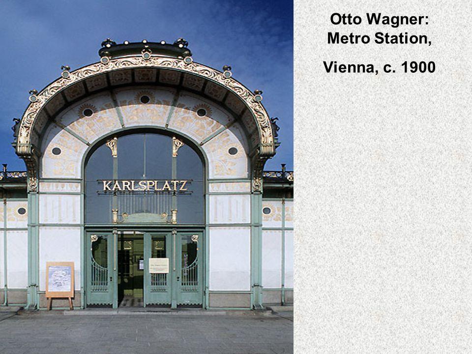 Otto Wagner: Metro Station, Vienna, c. 1900