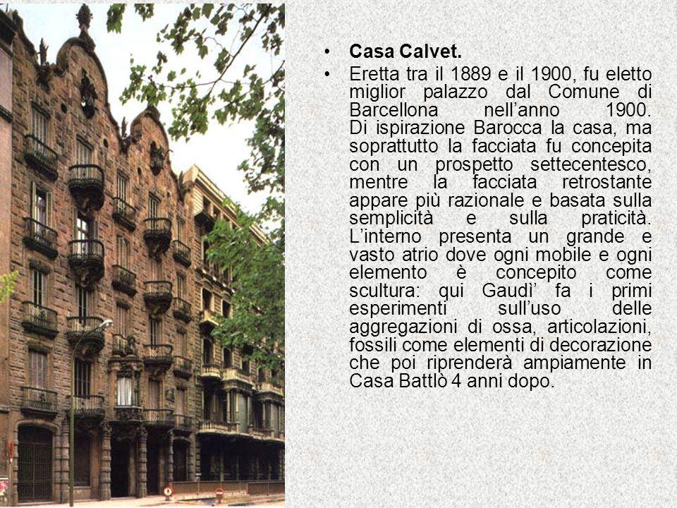 Casa Calvet.