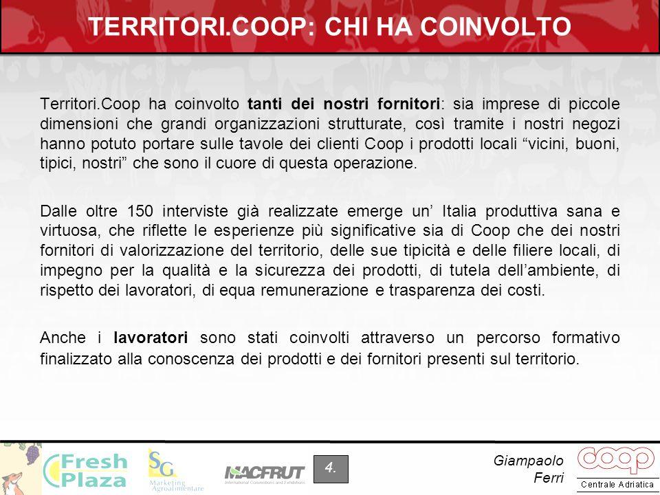 TERRITORI.COOP: CHI HA COINVOLTO