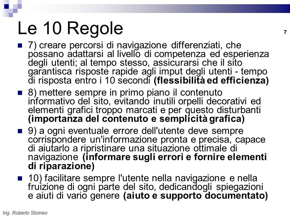 Le 10 Regole