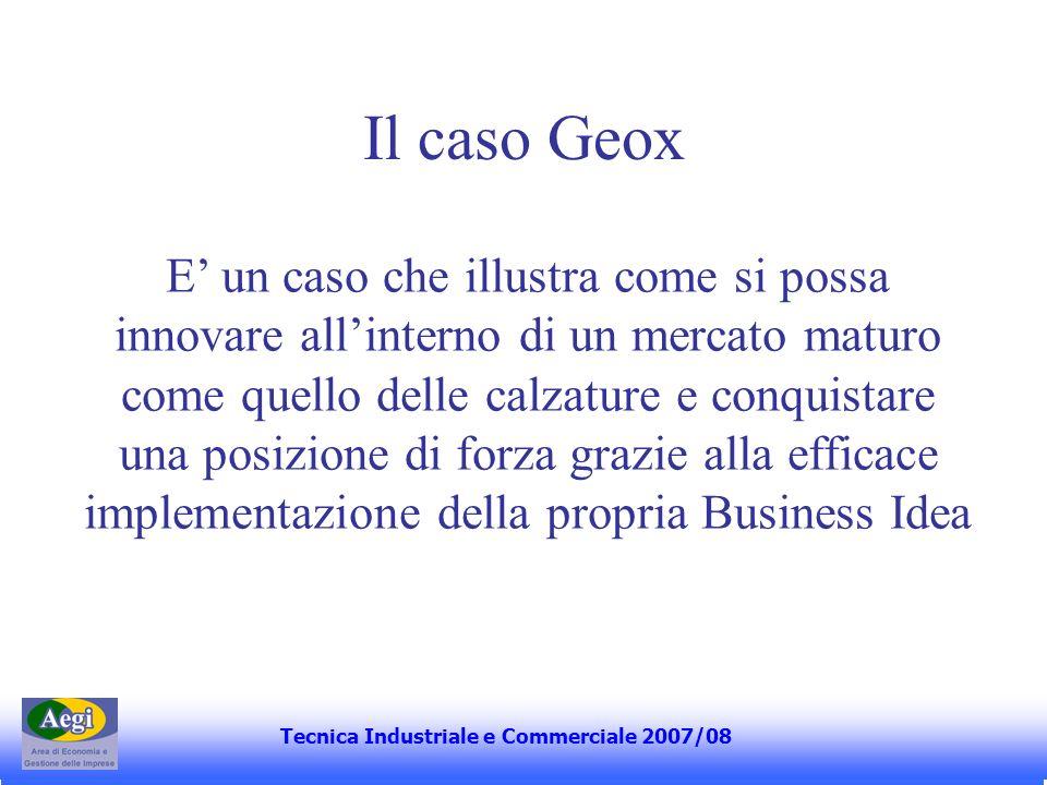 Il caso Geox
