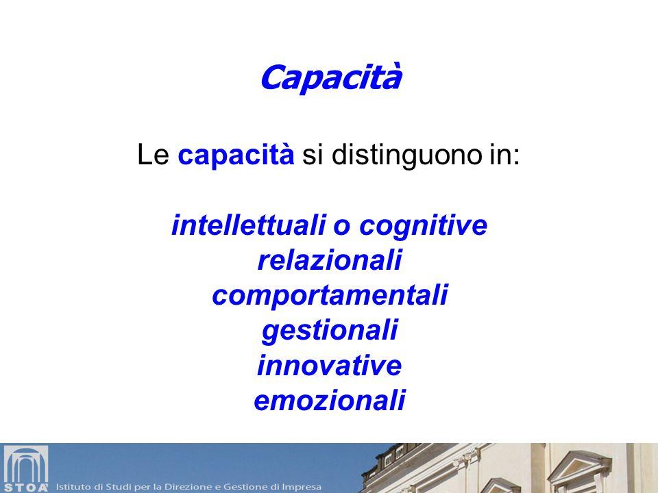 intellettuali o cognitive