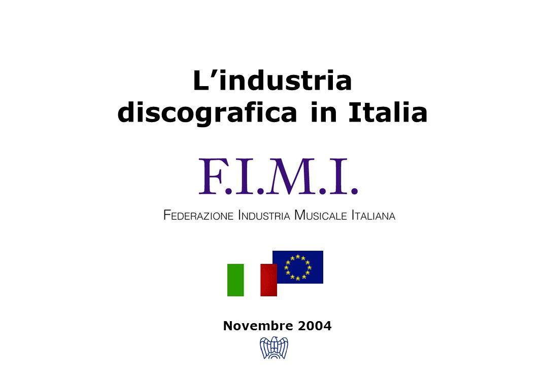 L'industria discografica in Italia