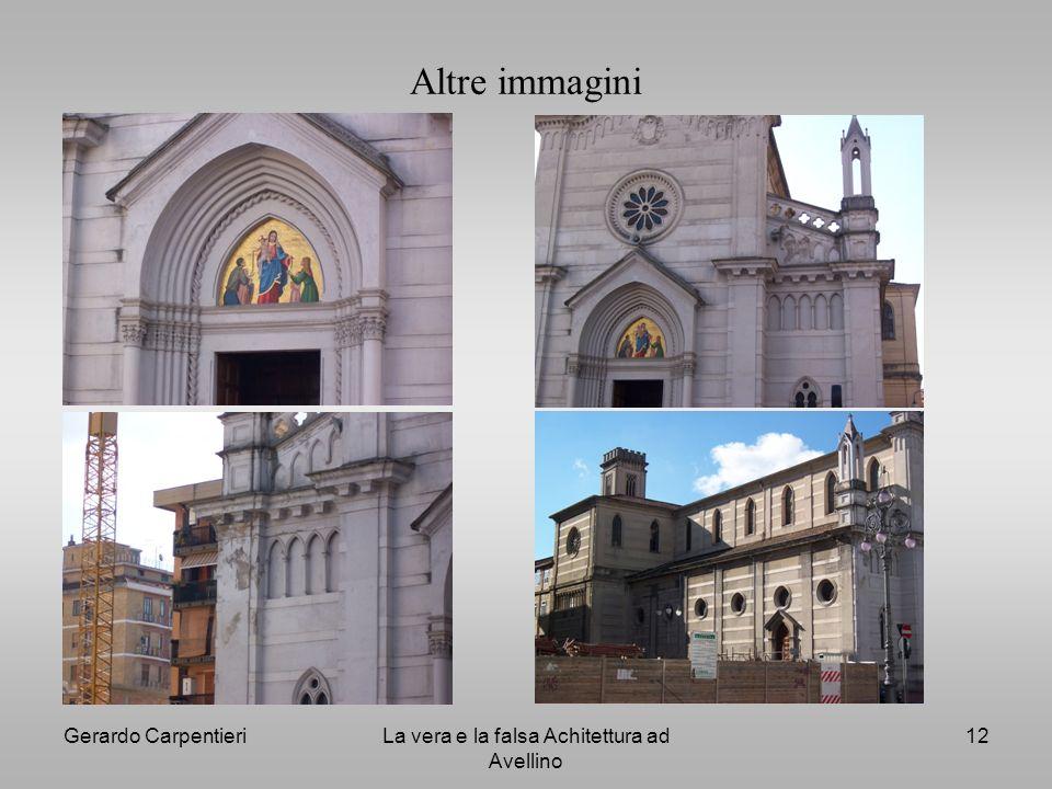 La vera e la falsa Achitettura ad Avellino