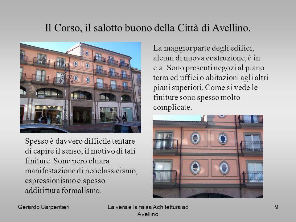 Il Corso, il salotto buono della Città di Avellino.