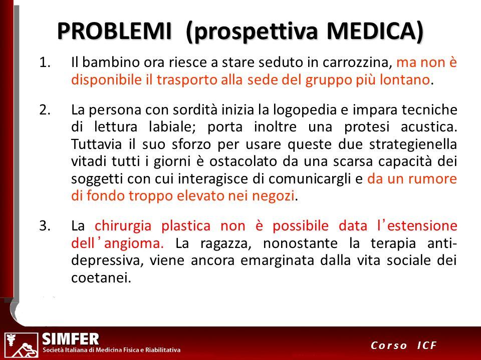 PROBLEMI (prospettiva MEDICA)