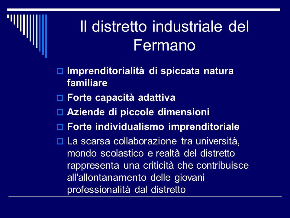 Il distretto industriale del Fermano