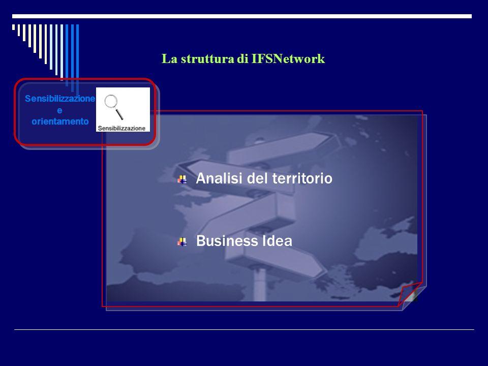 La struttura di IFSNetwork