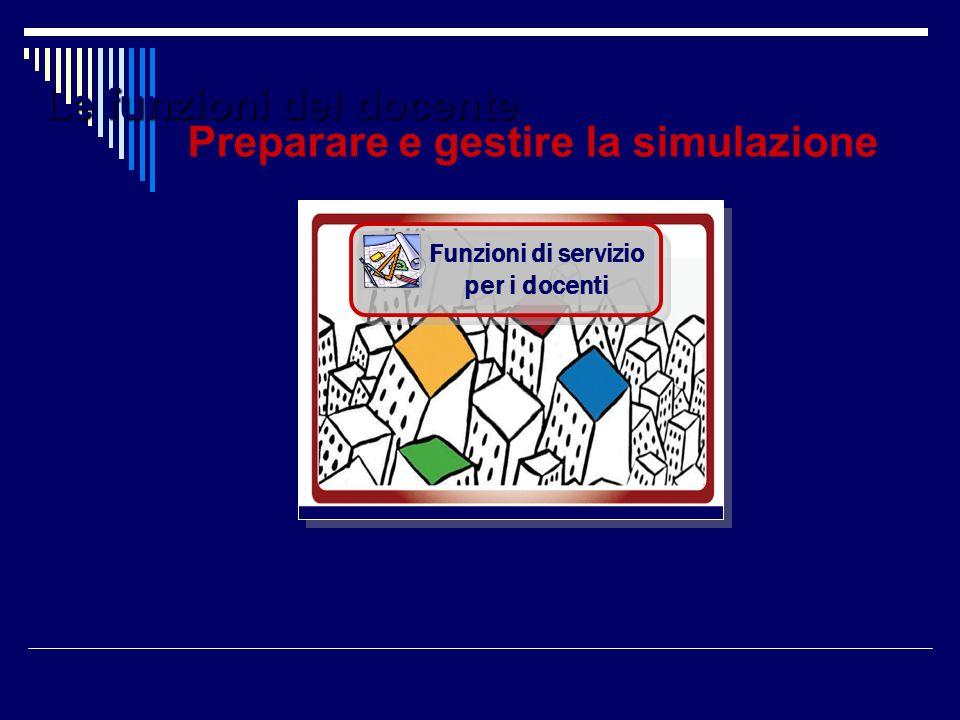 Preparare e gestire la simulazione