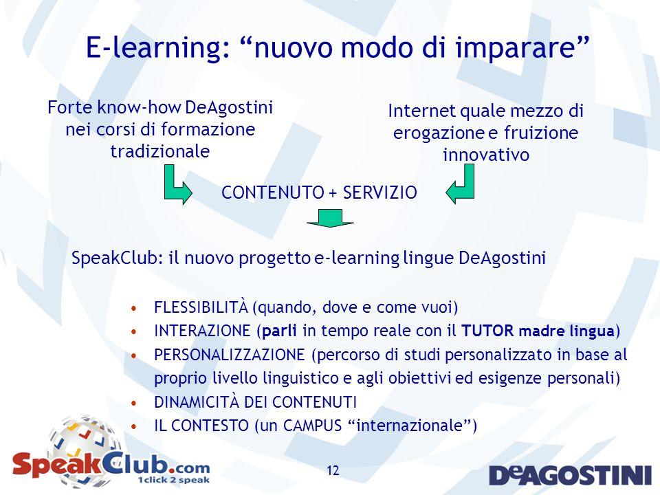 E-learning: nuovo modo di imparare