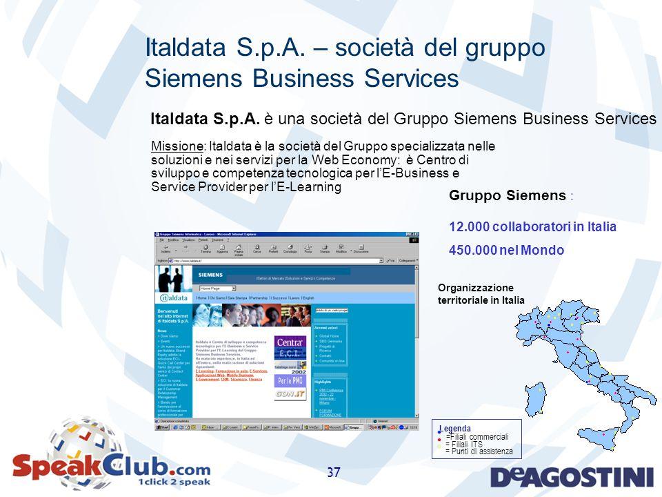 Italdata S.p.A. – società del gruppo Siemens Business Services