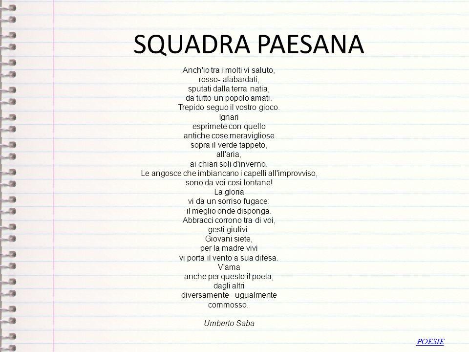 SQUADRA PAESANA