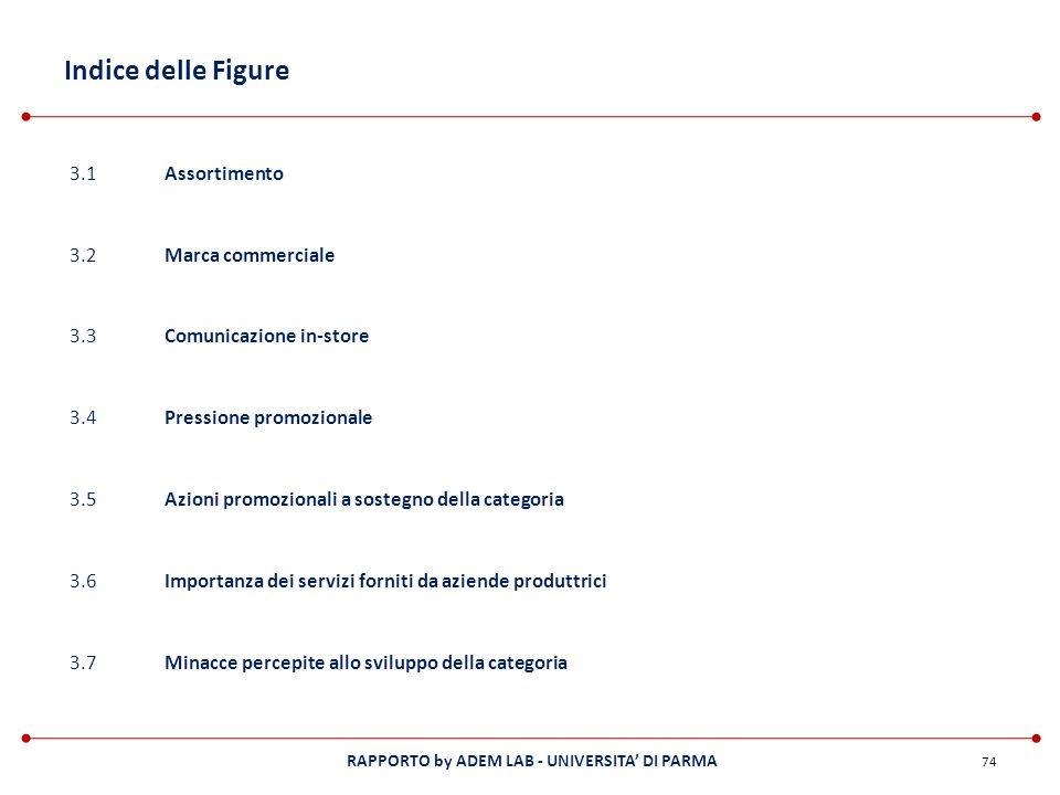 Indice delle Figure 3.1 Assortimento 3.2 Marca commerciale 3.3