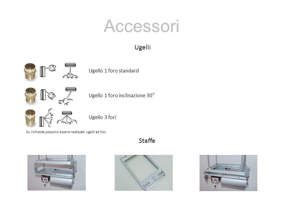 Accessori Ugelli Staffe Ugello 1 foro standard