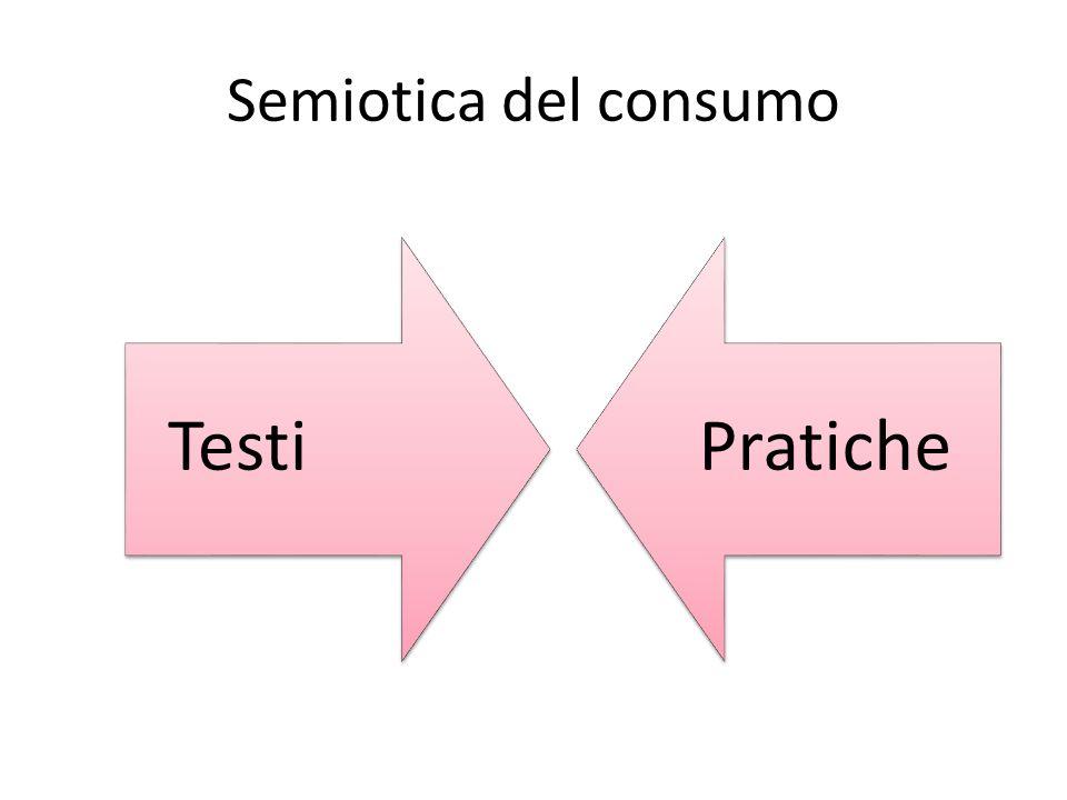 Semiotica del consumo Testi Pratiche