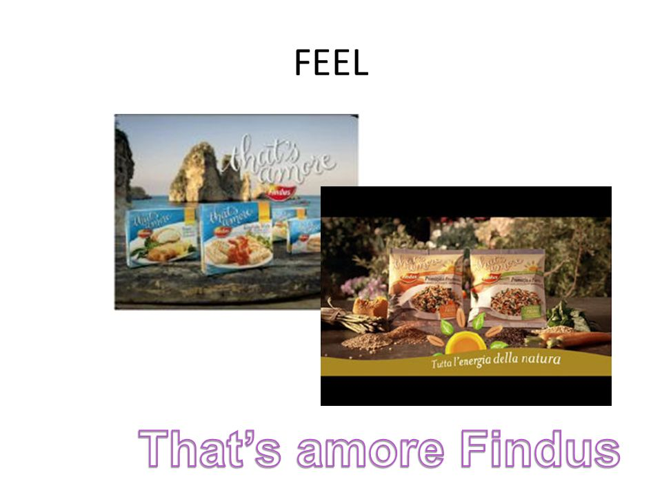 FEEL That's amore Findus