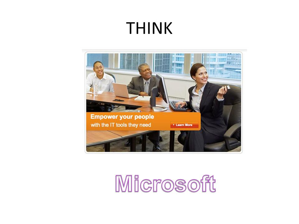 THINK Microsoft