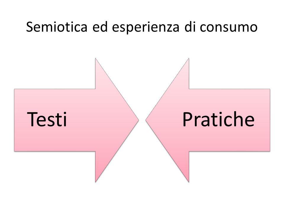 Semiotica ed esperienza di consumo